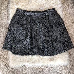 Torrid jacquard skirt